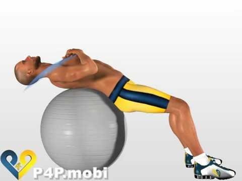 abdo avec ballon de gym