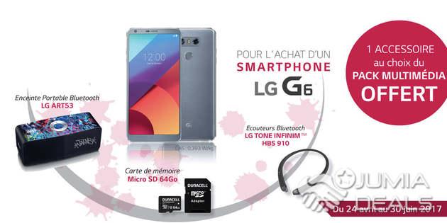 accessoire lg g6