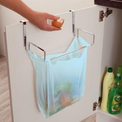 accroche sac poubelle placard