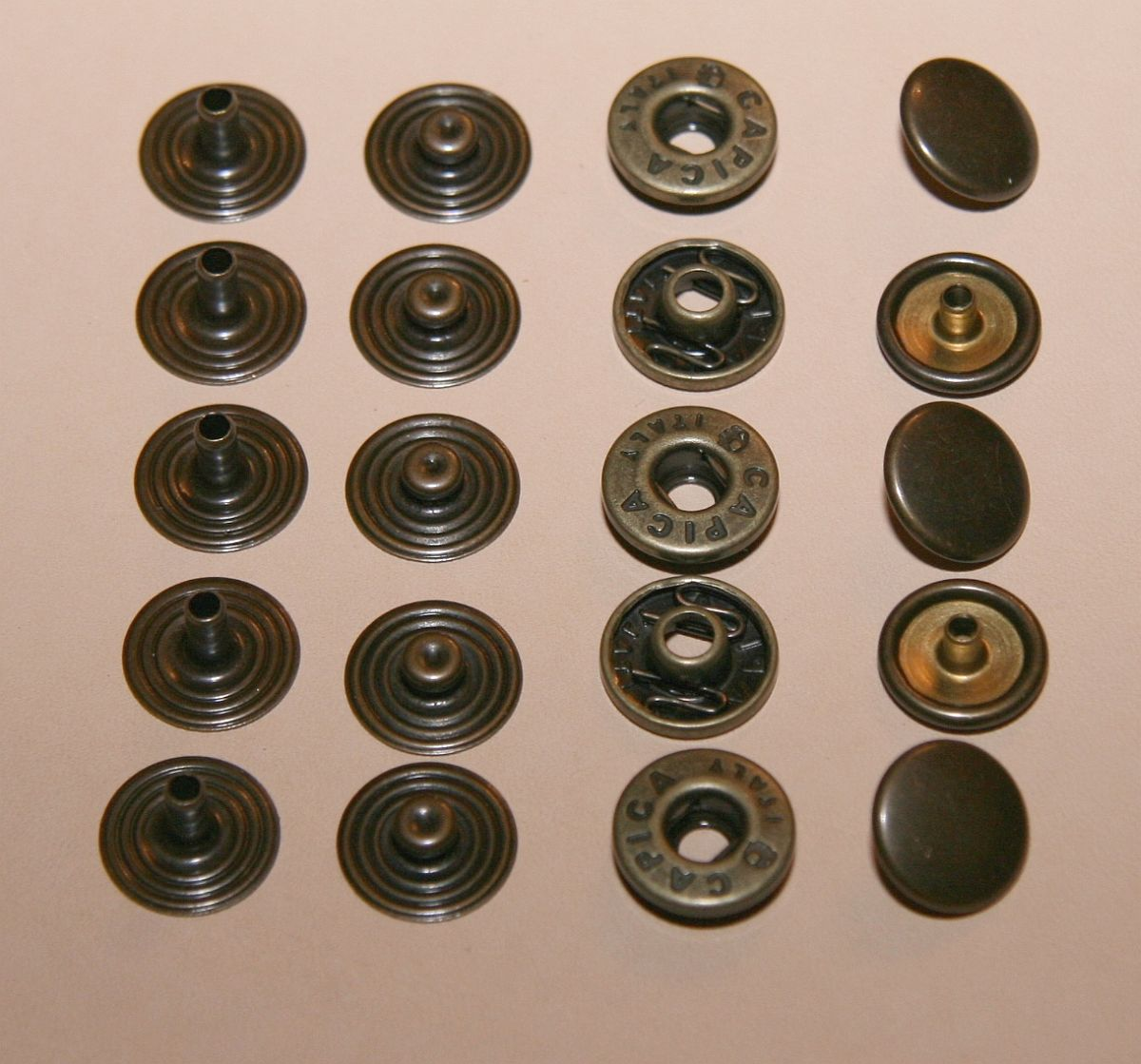 acheter bouton pression