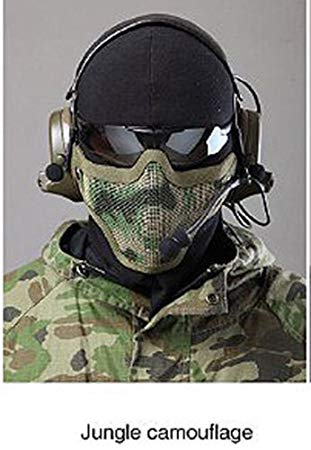 airsoft protection visage