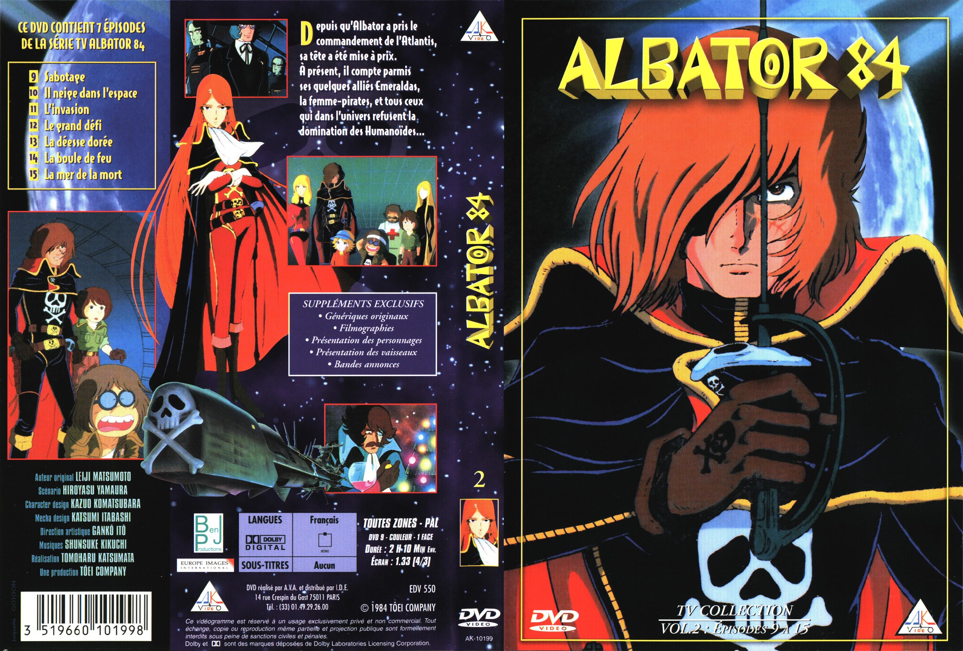 albator 84 dvd
