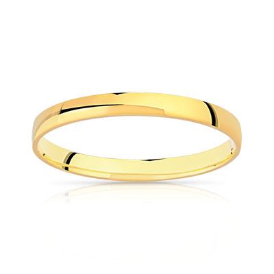 alliance or jaune femme