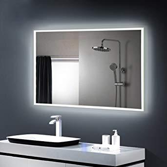 amazon miroir salle de bain
