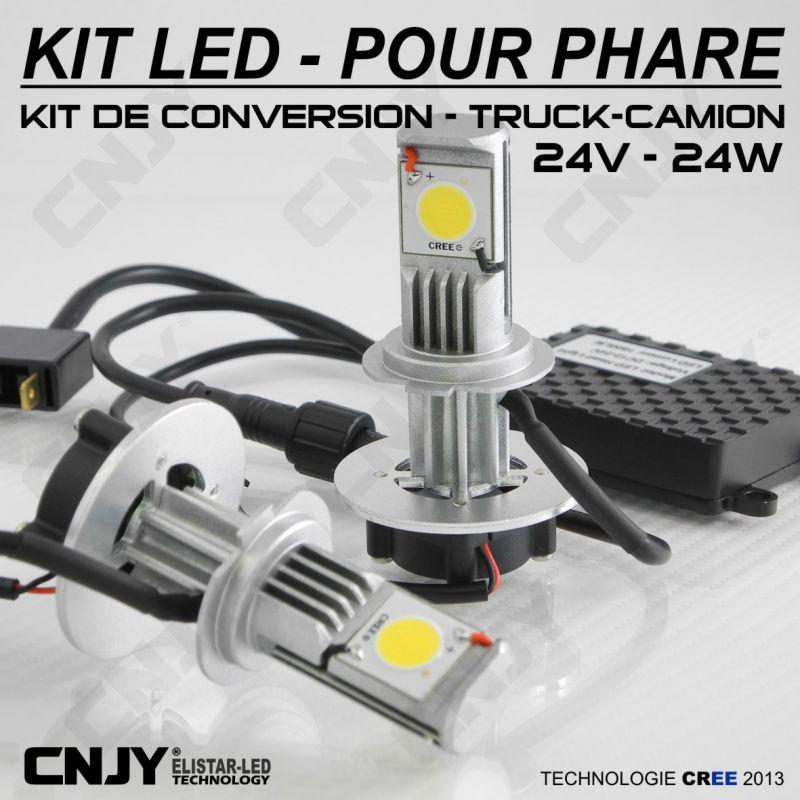 ampoule led h7 24v