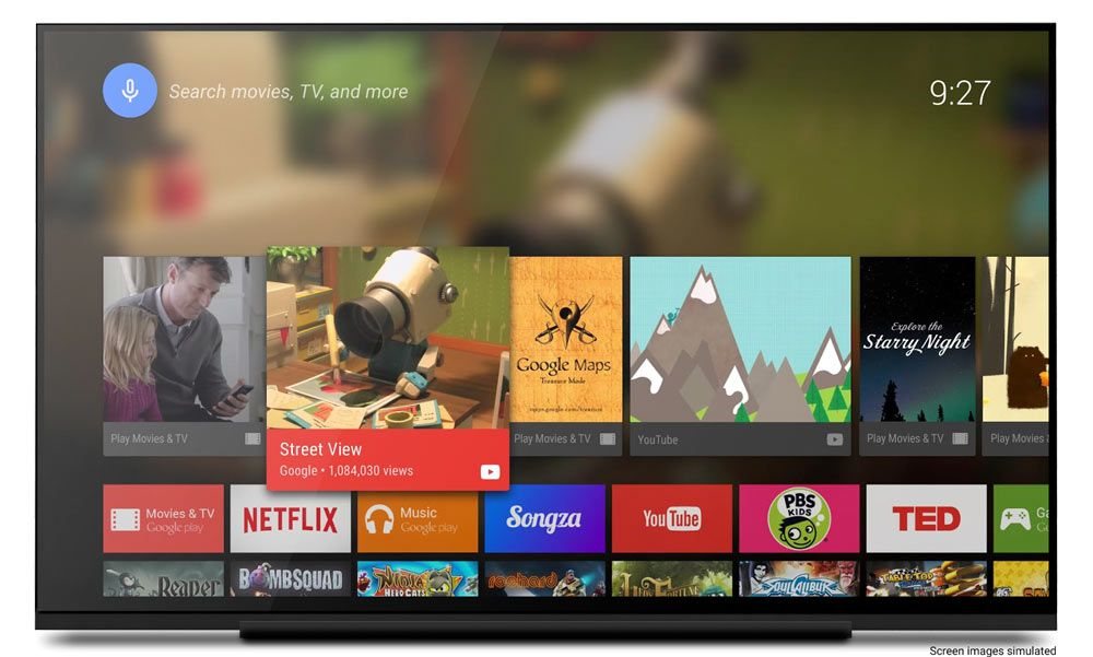 android tv pas cher