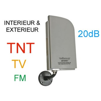 antenne tv tnt hd