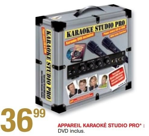 appareil karaoke maison