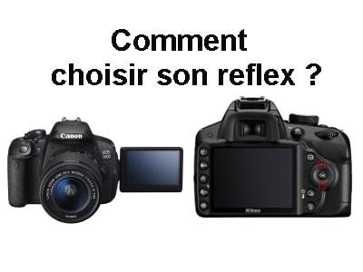 appareil photo reflex débutant