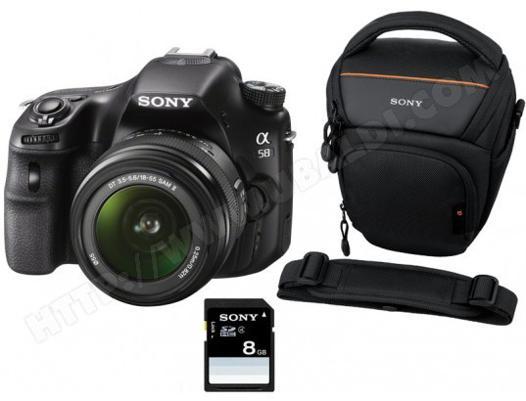 appareil photo sony a58
