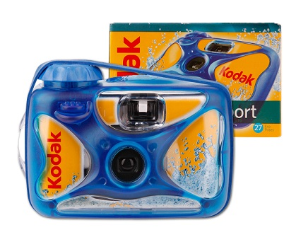 appareil photo waterproof jetable