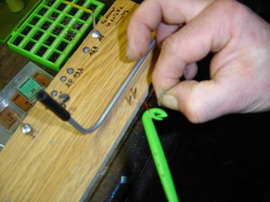 appareil pour noeud de peche