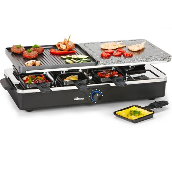 appareil raclette grill 8 personnes