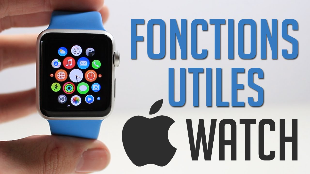 apple watch fonction