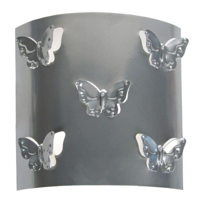 applique murale papillon