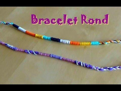 apprendre à faire des bracelets brésiliens