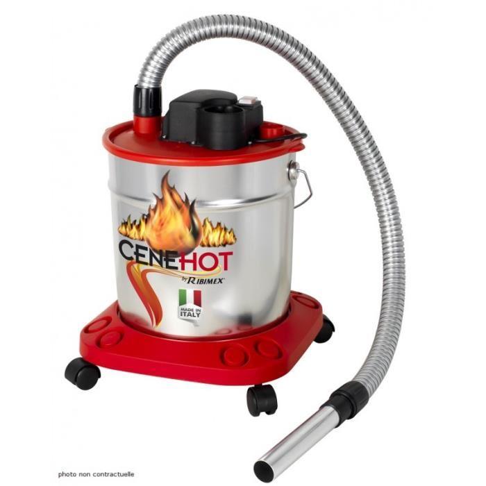 aspirateur à cendres chaudes