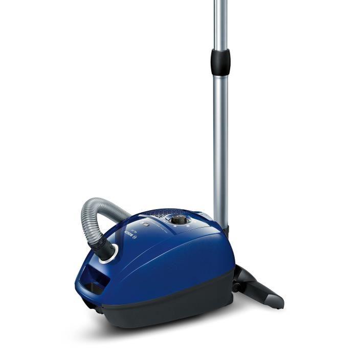 aspirateur bleu