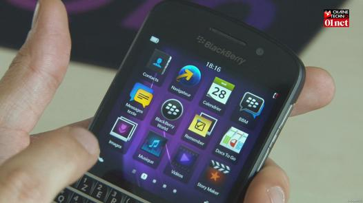 autonomie blackberry q10