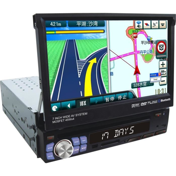 autoradio gps simple din