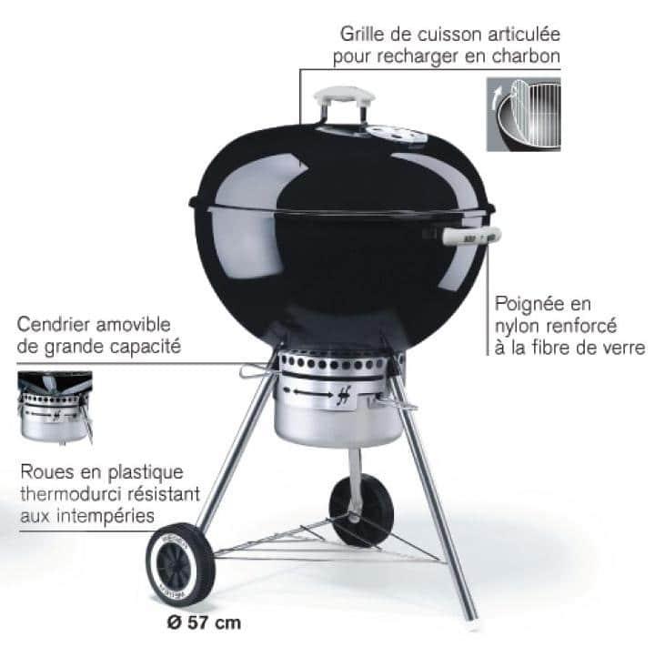 barbecue weber prix