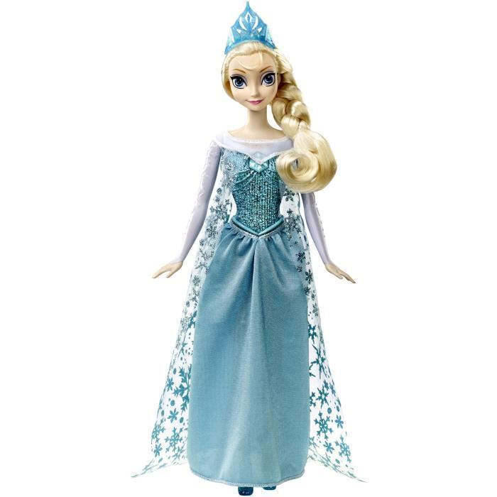 barbie reine des neiges qui chante