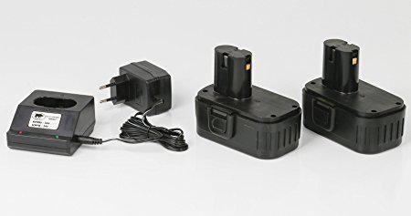 batterie perceuse sans fil 18v