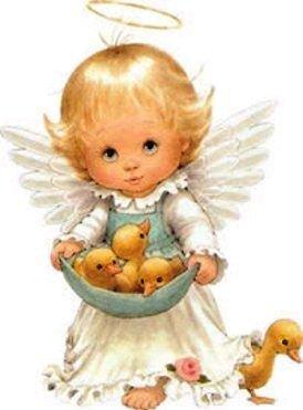bébé ange fille dessin