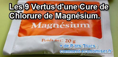 bienfaits du chlorure de magnésium