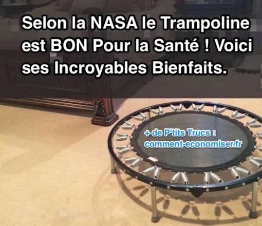 bienfaits trampoline
