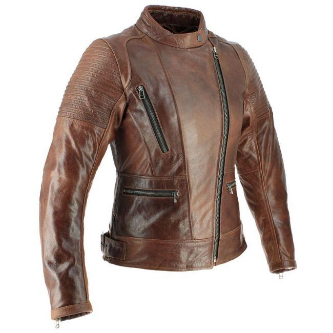 blouson cuir moto femme