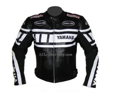 blouson moto yamaha cuir