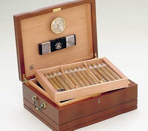 boite a cigare en bois