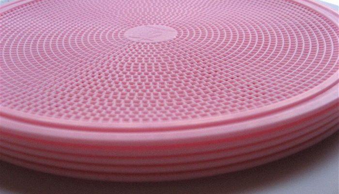 boite plastique ronde pour tarte