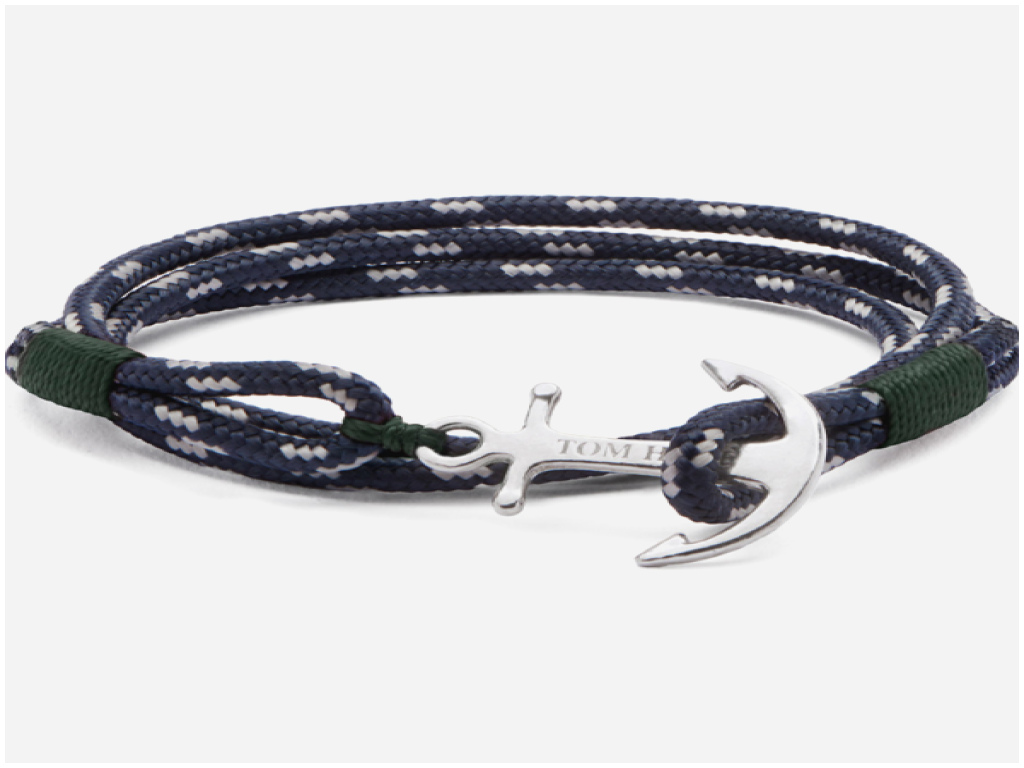 bracelet ancre marine tom hope
