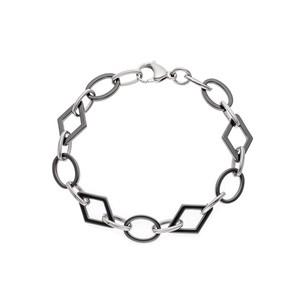 bracelet ceramique noir