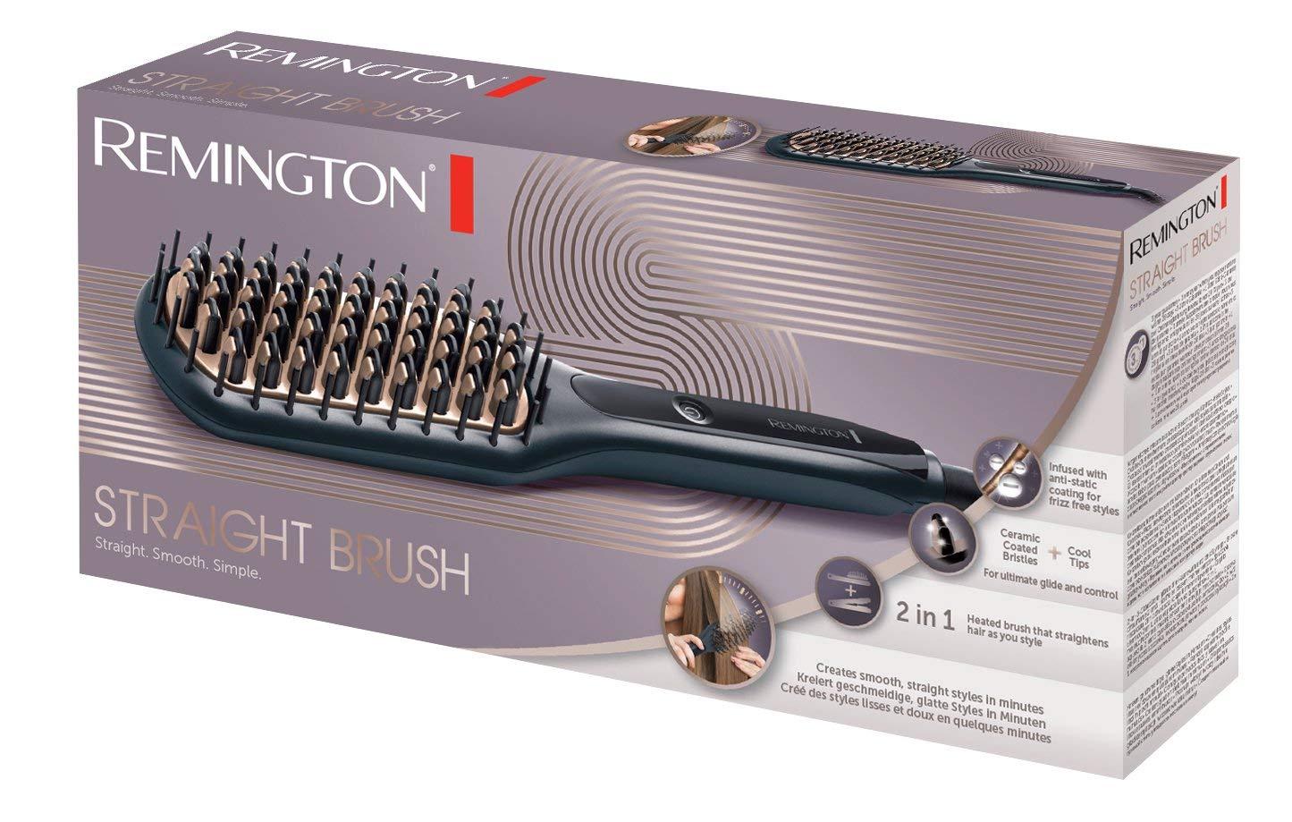 brosse lisseur remington