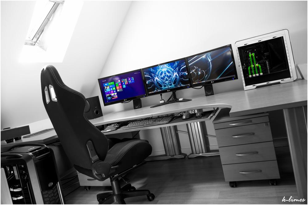 bureau de gamer