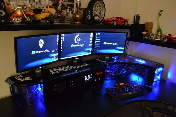 bureau ordinateur gamer