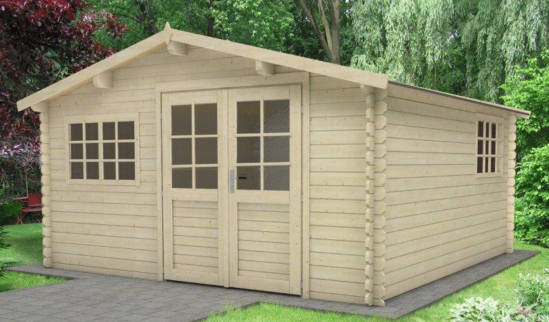 cabane jardin en bois