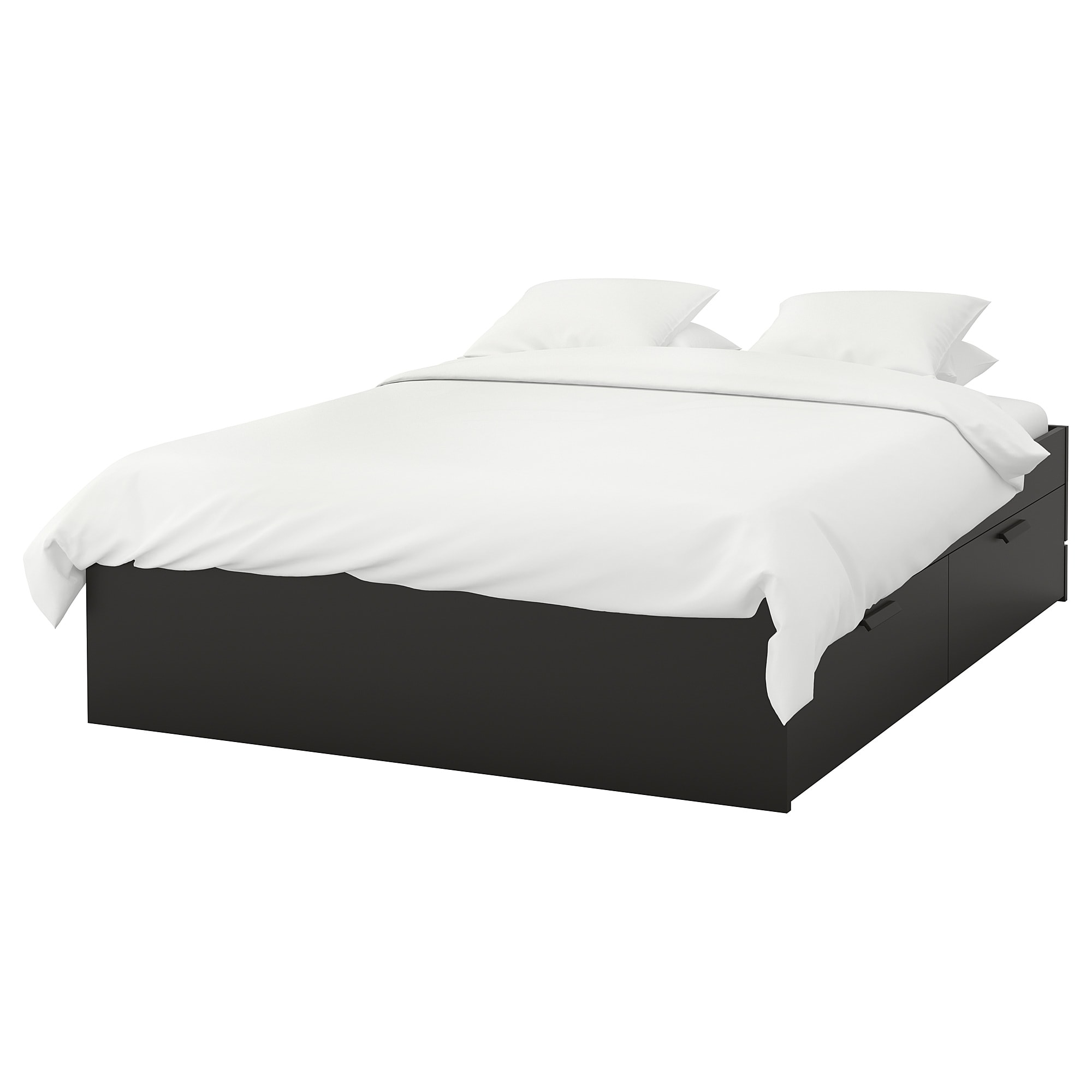 cadre de lit noir
