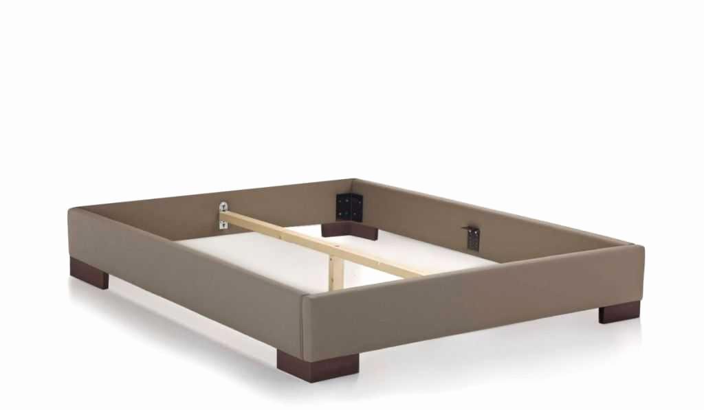 cadre de lit sans sommier