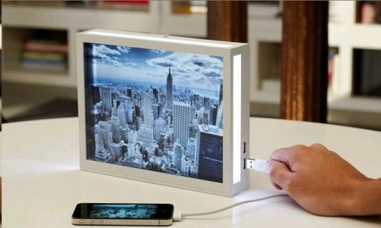 cadre photo numérique wifi