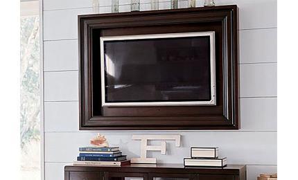 cadre tv murale pour ecran plat