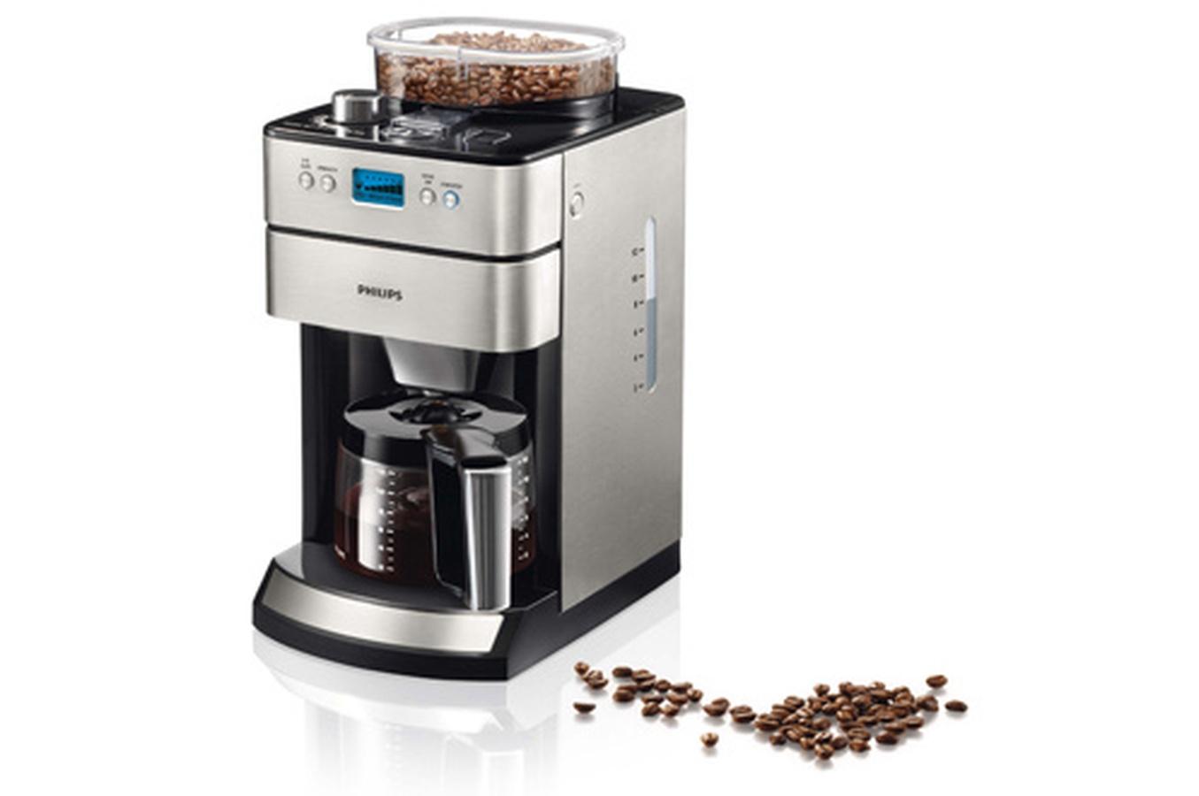cafetière avec broyeur à grain intégré