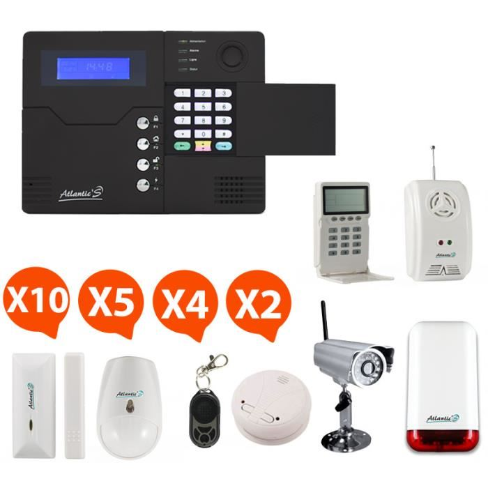 camera alarme maison sans fil