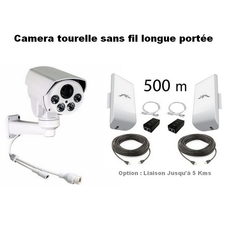 camera de surveillance sans fil exterieur longue portee