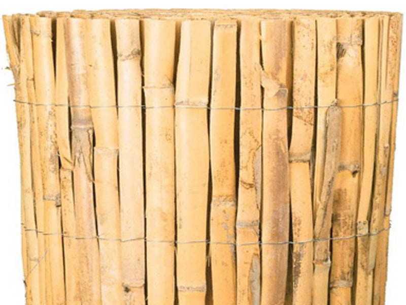 canisse bambou fendu