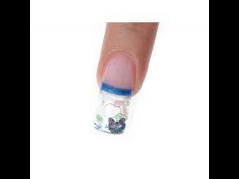 capsules ongles aquarium