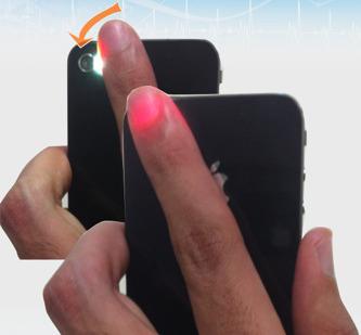 cardiofrequencemetre iphone